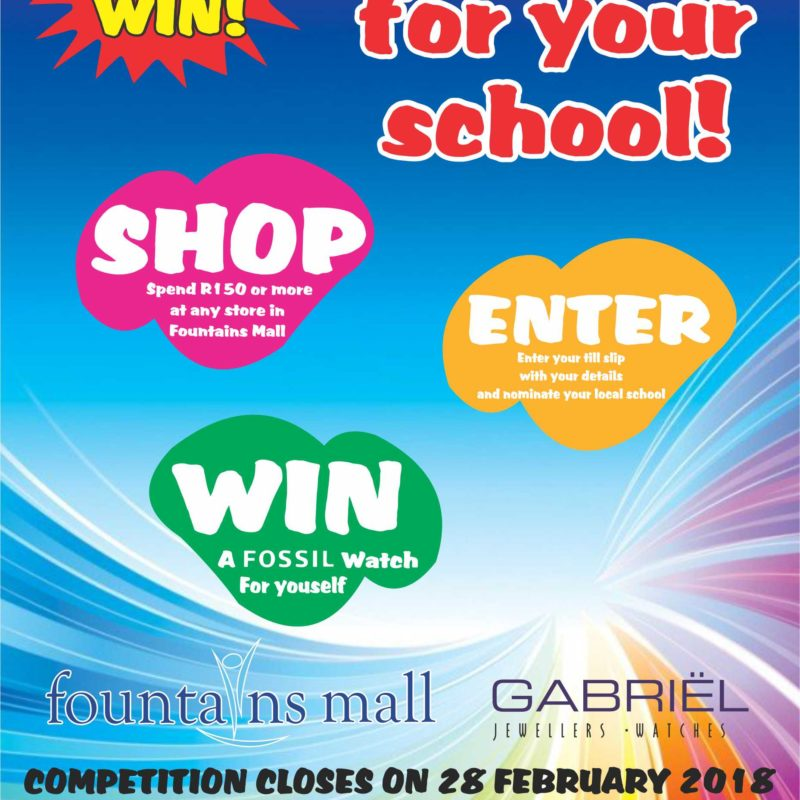 Back2school competiton Advert